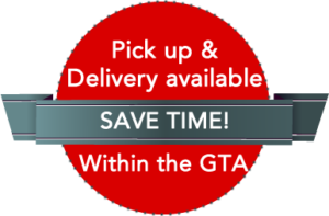 pick up and delivery in GTA