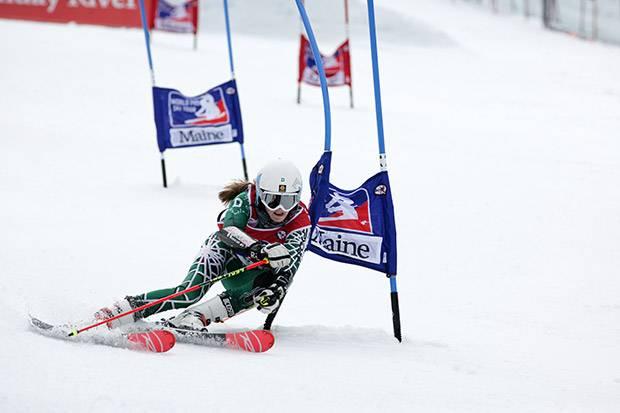 Womens ski race world pro tour