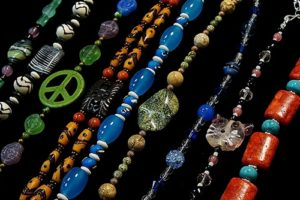 These basic bead jewelry pieces can be made in a class at The Twisted Bead & Rock Shop.