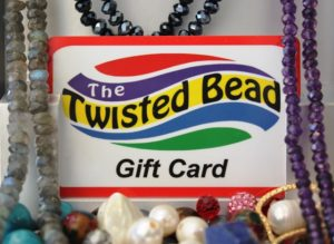 Gift cards are available online and in-store at The Twisted & Rock Shop.