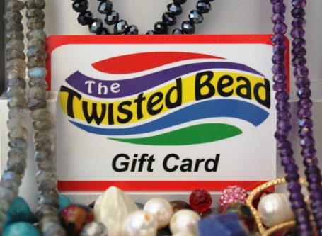 Gift card to The Twisted Bead & Rock Shop.