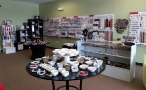 Inside Twisted Bead & Rock Shop. Read through for more about us.