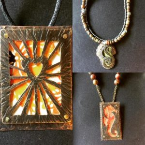Make unique jewelry designs in classes taught by local artist Michael Dennis