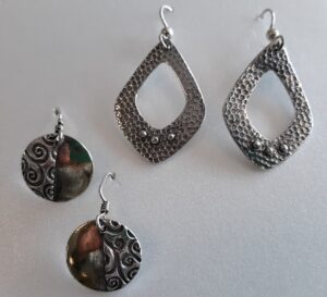 example of basic pmc earrings class