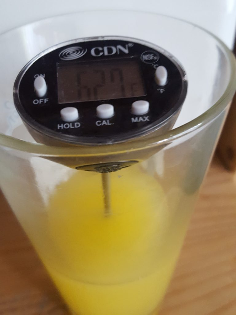 Measuring the temperature of food is good first step to controlling foodborne pathogens.