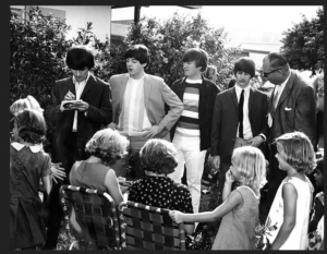 John, Paul, George, and Ringo sign autographs in Key West