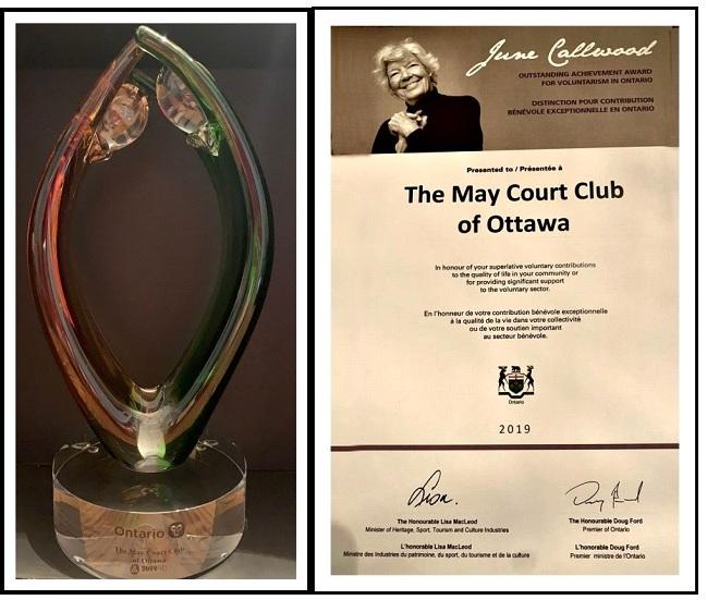 June Callwood award