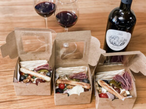 Mini Charcuterie Boxes, Perfect for Individual Portions and Safe Gatherings