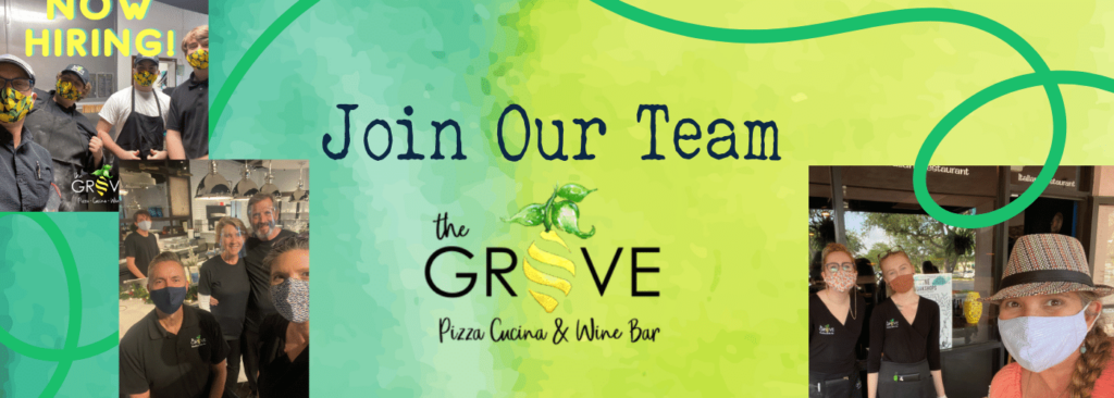 Join our Team at The Grove Pizza Cucina Wine Bar Hobe Sound Florida Stuart Jupiter