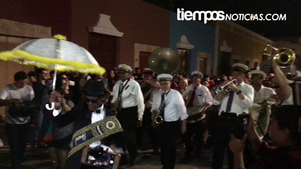 New Orleans Spice® Brass Band at Intl jazz fest in Mexico