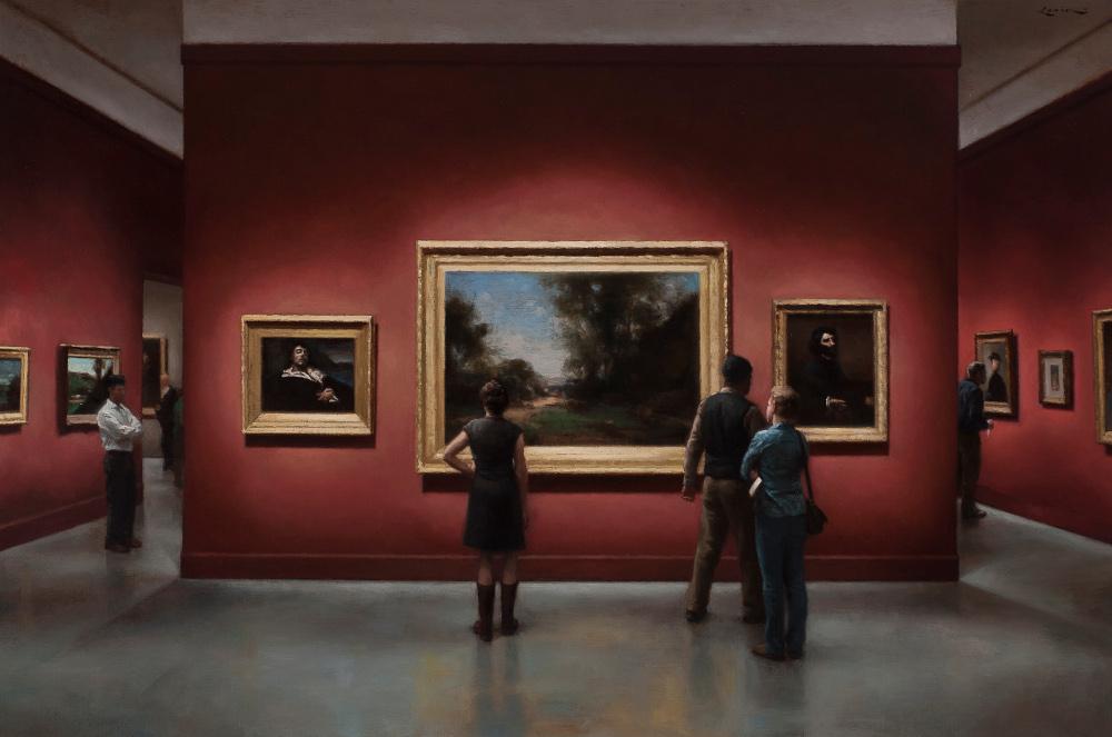 The Exhibition-24x36-Steven-J-Levin