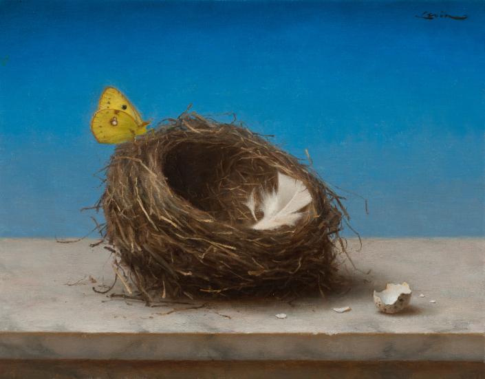 Bird's Nest, 9 x 12, 2013
