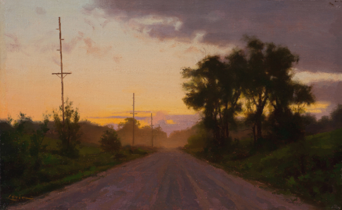 Dirt Road, Sunset