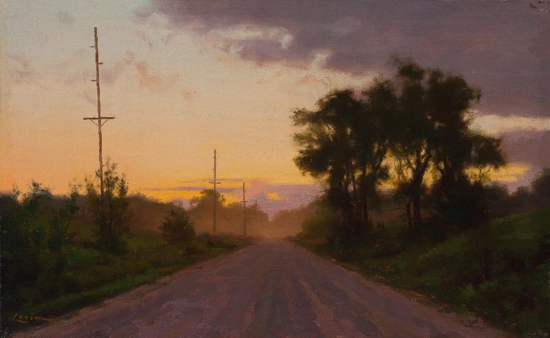 Dirt Road, Sunset