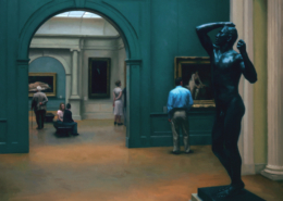 Saturday Afternoon at the Met, 30 x 36, 2003