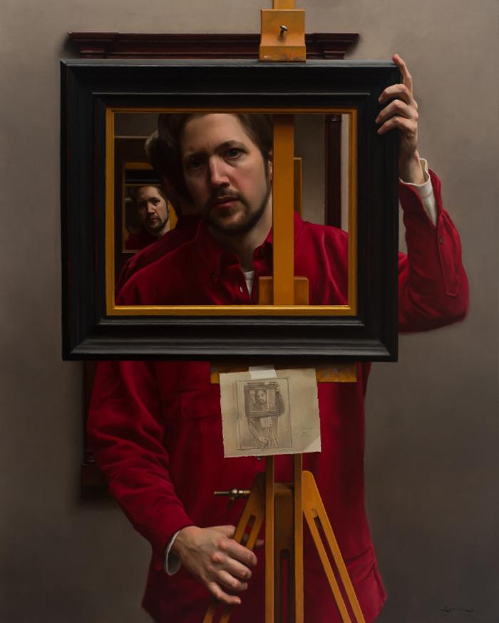 Self portrait 2005, 40 x 32