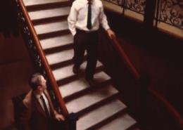 Stairwell Meeting
