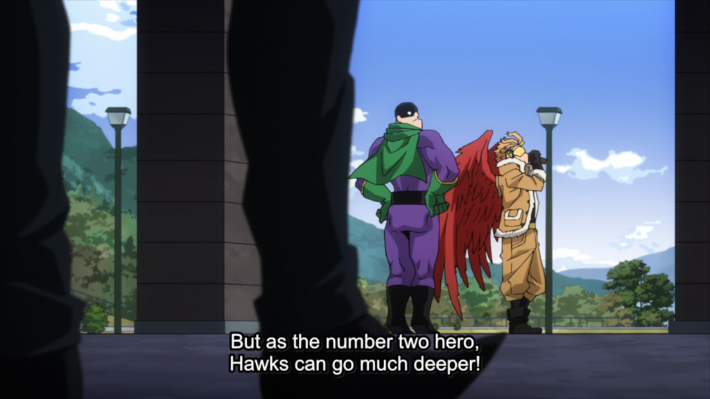 My Hero Academia Episode 102 - Hawks spying for the Liberation Army