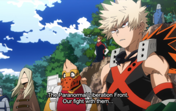 My Hero Academia Episode 113 - Eve of the fight with the Paranormal Liberation Front