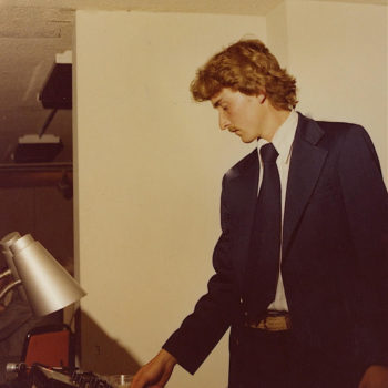 Bob Heim - 1980 - working the controls for my Mobile