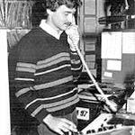 R.J. Heim at WLAN-FM, Lancaster PA., 1981