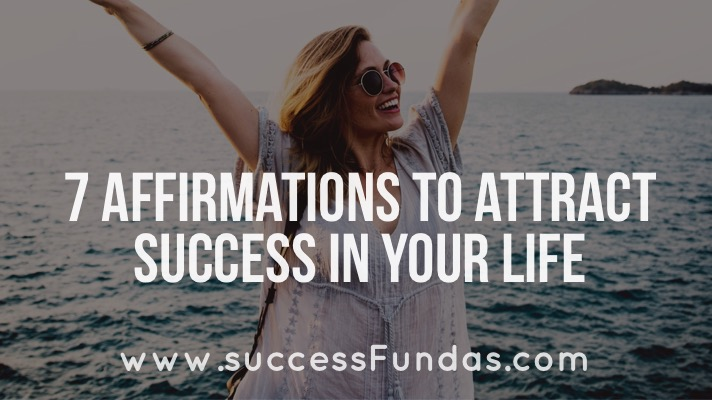Affirmations to attract success
