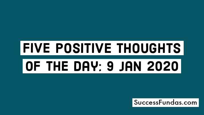positive quotes for 9 Jan