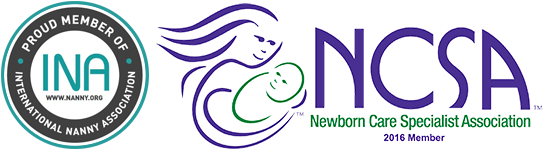 Nanny and Newborn Care Logos