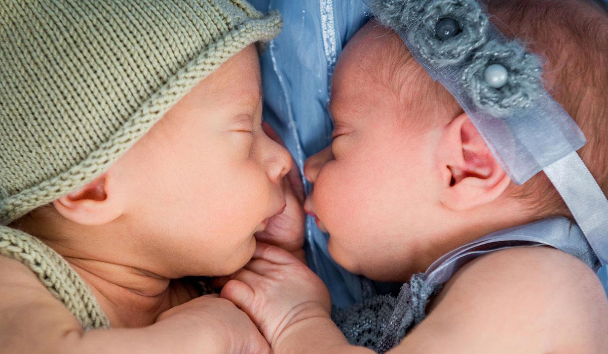 Sleeping InfantTwins