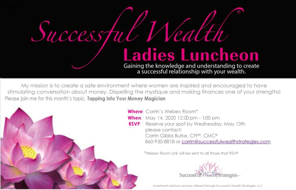 may virtual ladies lunch