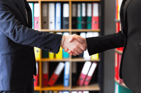 A handshake is your final agreement.