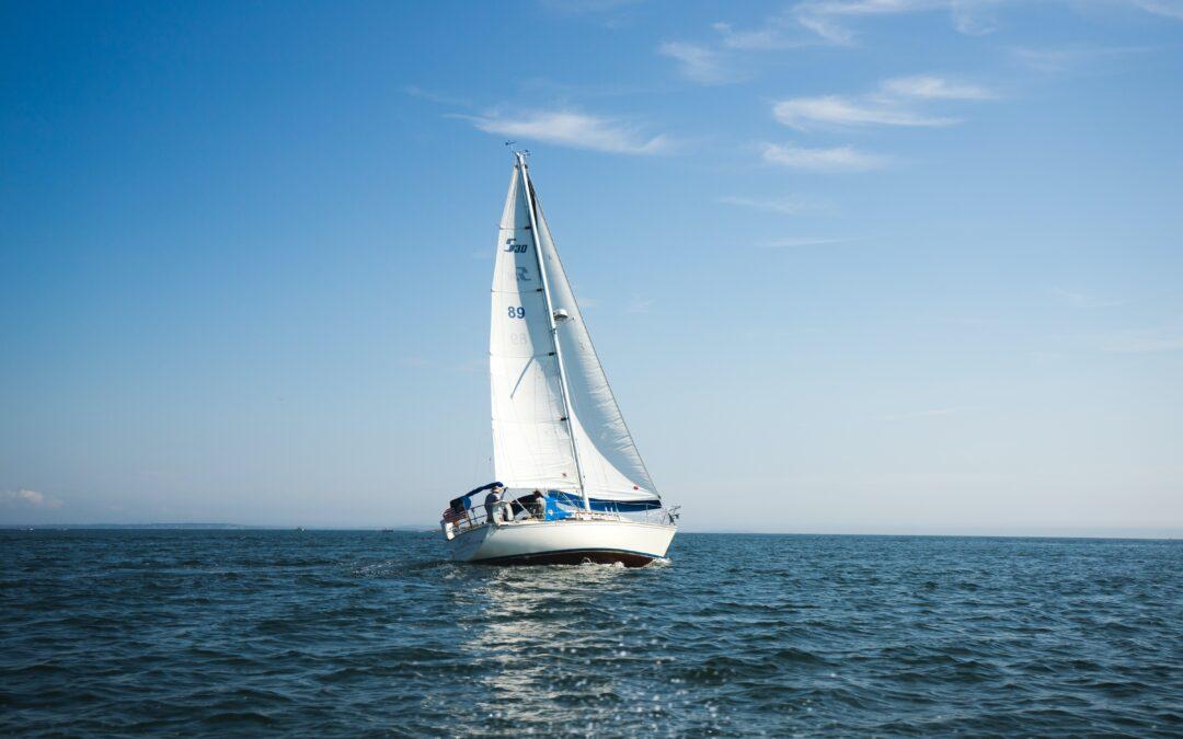 Sail away on treasured groound.
