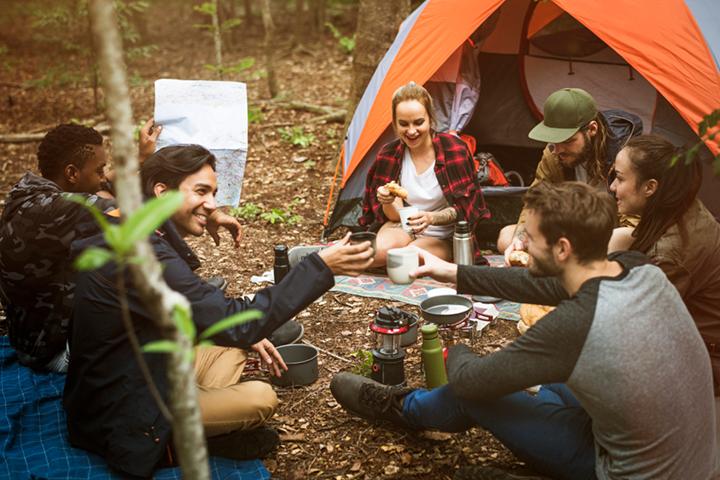 camping-teens