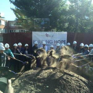 Harbor House Domestic Abuse Programs broke ground in September on a $4 million building expansion.