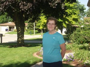 RSVP volunteer, Kathy Salm, was instrumental in organizing the first Walk for Suicide Awareness. This year's event is set for Sept. 16 at Hydro Park in Kaukauna.