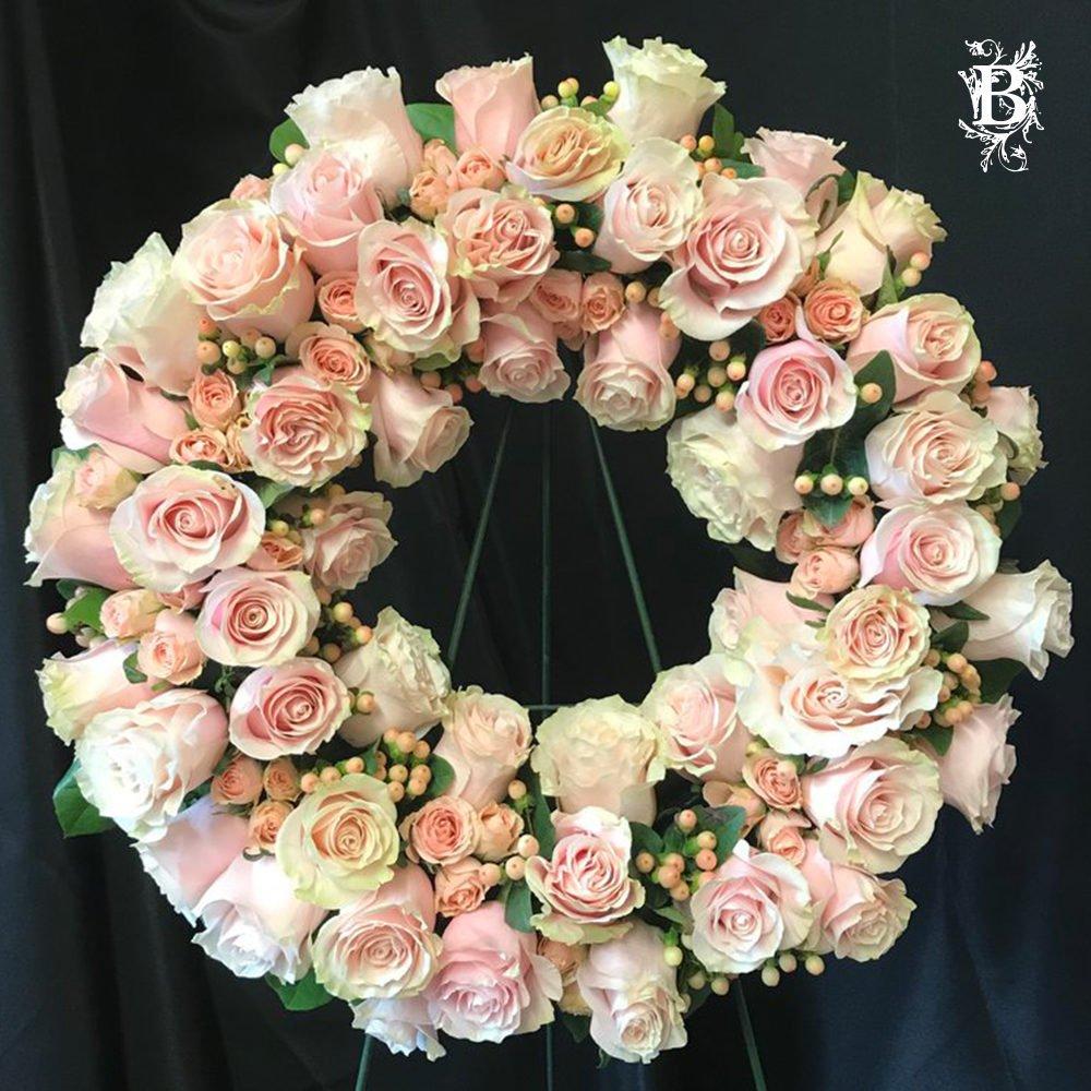 Seasonal Flower Wreath