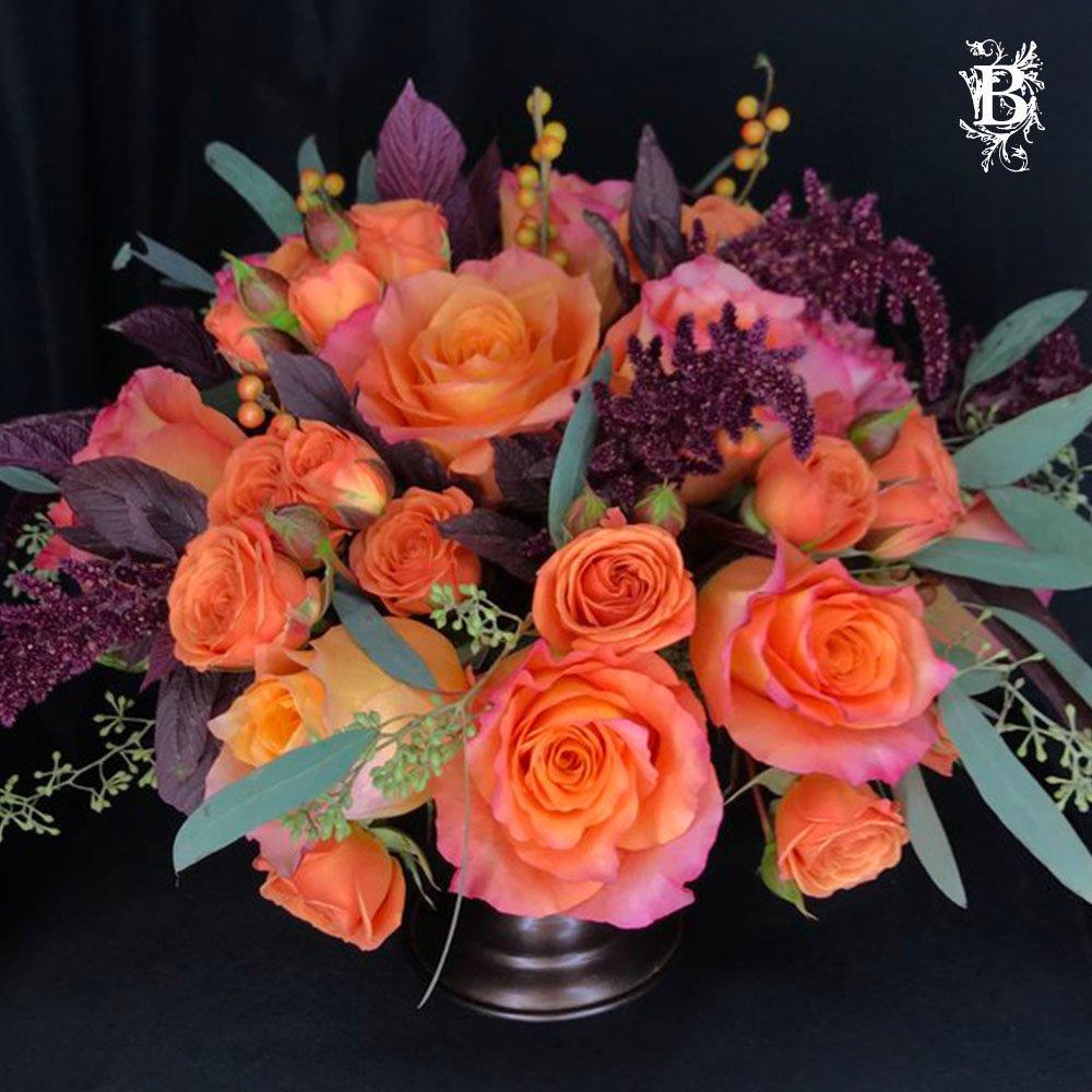 Shades of Orange Roses