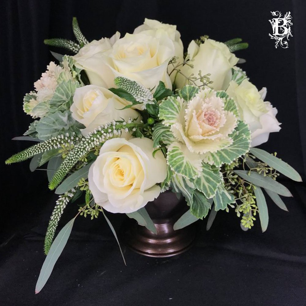 Shades of White Roses