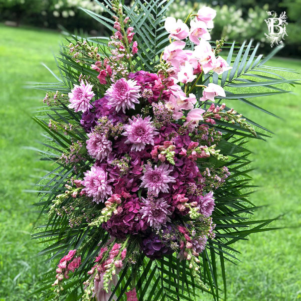 Lavender Sympathy Flowers