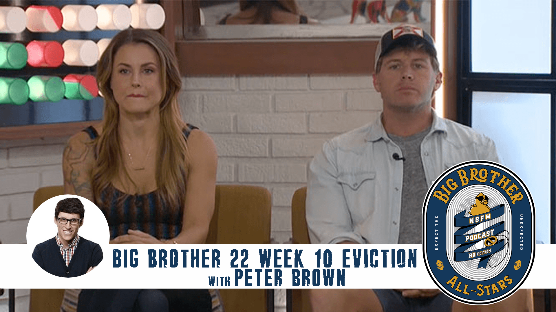 Peter Brown on the Big Brother 22 Week 10 Eviction Recap