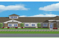 Strongsville Front Elevation Rendering