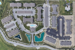 The Residences at Carronade Aerial phases 1 & 2