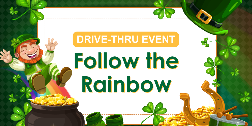 Drive-Thru Event: Follow The Rainbow @ Big Stone Lodge | Spring | Texas | United States