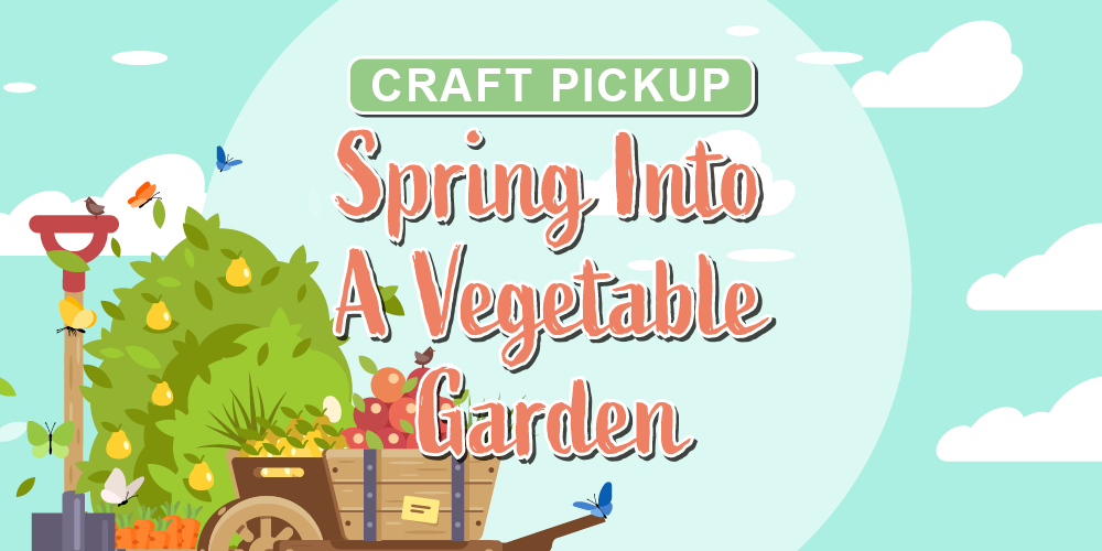 Craft: Spring Into A Vegetable Garden @ Mangum-Howell Center | Houston | Texas | United States