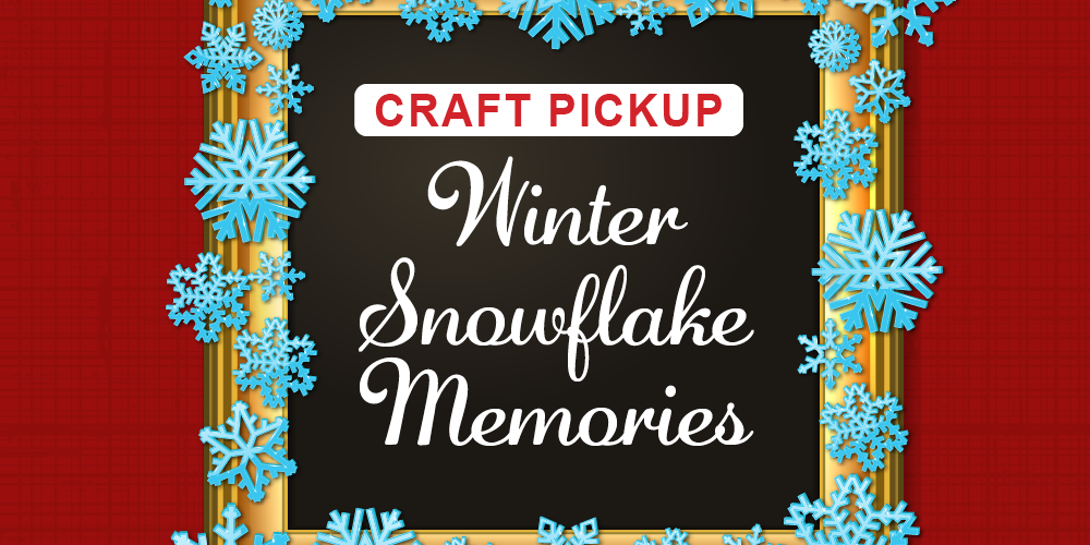 Craft: Winter Snowflake Memories @ Mangum-Howell Center | Houston | Texas | United States