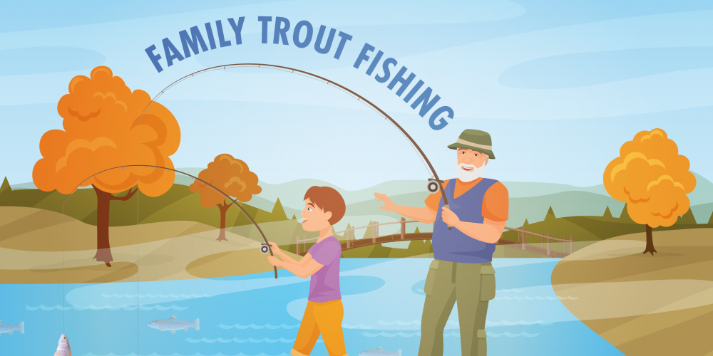 Family Trout Fishing @ Pundt Park | Spring | Texas | United States