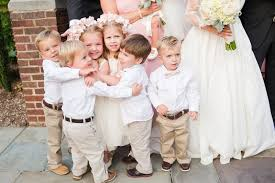 entertaining children at weddings