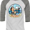 Sea Vixen Baseball Shirt