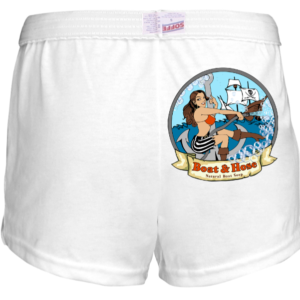 B&H Sea Vixen Lady Athletic Shorts