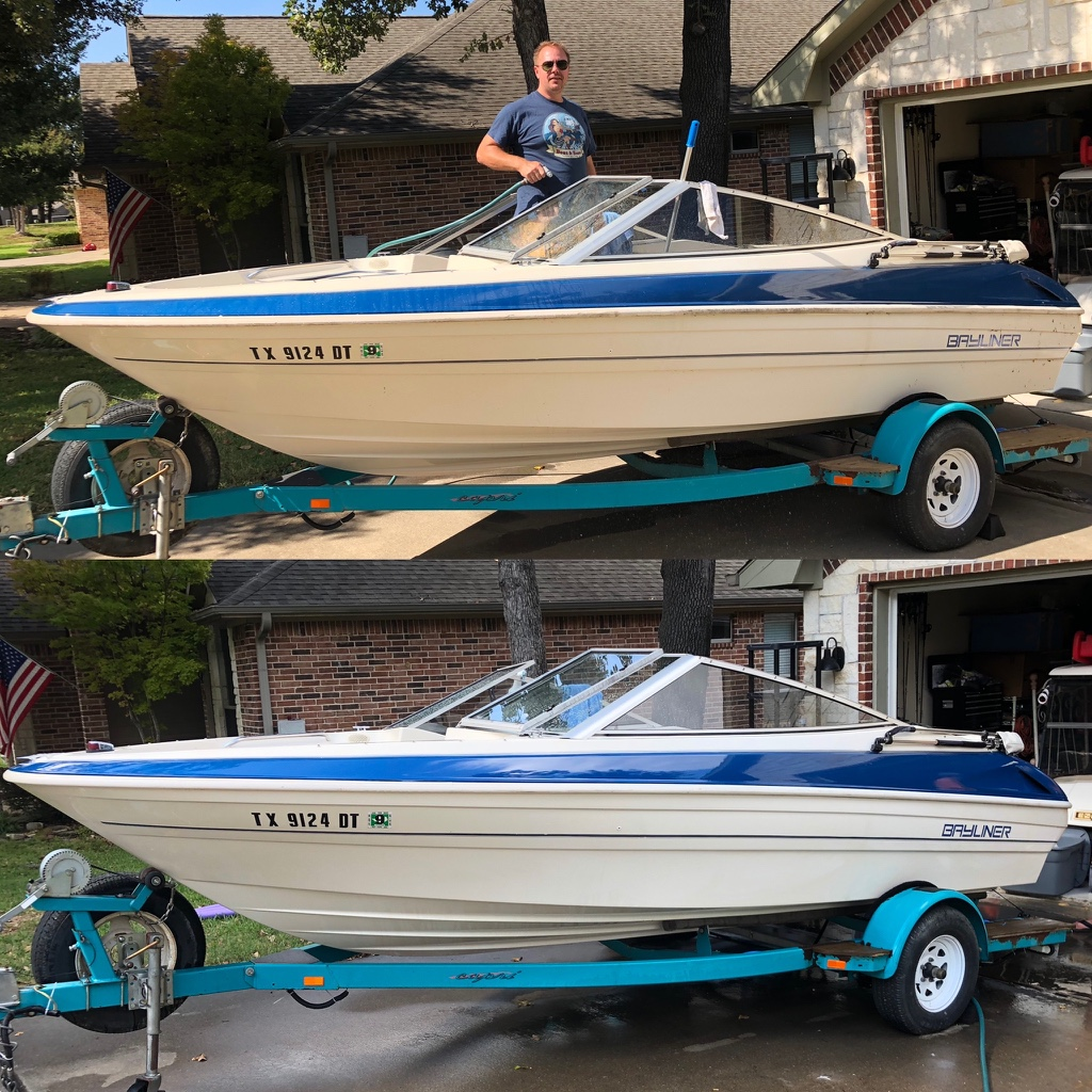 Boat and Hose Clean Results